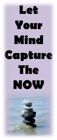 Let Your Mind Capture The Now